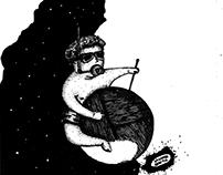 Bocetos de Ilustraciones para comics