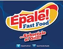 Epale Fast Food Menu