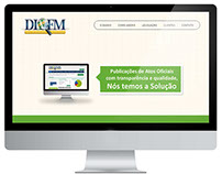 Layout Site Diofm