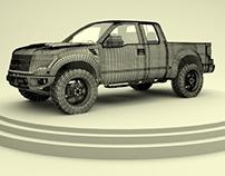 Práctica Camioneta Ford-Raptor