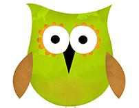 2D PERSONAJE BÚHO - OWL 2D CHARACTER