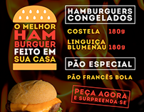 FLYER | BANNER FACEBOOK - HAMBURGUERS