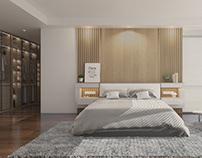 Master Bedroom and Walk-in Wardrobe
