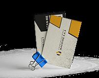 Logo y Borchure Construcciones Macoing