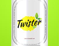 Logo para drink Gin Twister