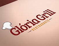 Glória Grill / Branding