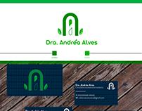 Dra Andréa Alves identidade visual