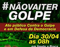 Frente Brasil Popular (Arte para confecção de Panfleto)