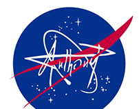 AnthonyP + NASA: LOGO