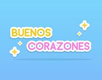Buenos Corazones - Stikers