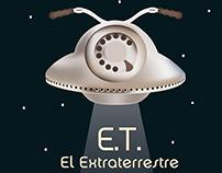 AFICHE film E.T.