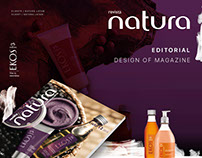Natura Diseño de revista / Design of Magazine