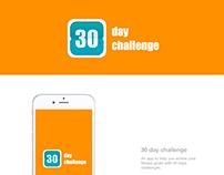30 day challenge app