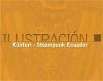 Künturi - 1ra tripulación Steampunk de Ecuador