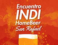 Encuentro INDI HomeBeer -  Campaña Gráfica