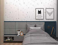 Projeto   Dormitório + Banheiro p\ Menino