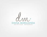 Branding DIANA MARULANDA Estética Integral