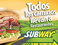Subway flyer