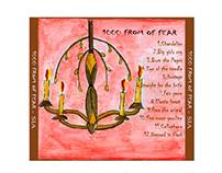 Cover de CD, Artista SIA. Ilustraciones.