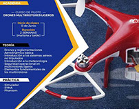 Flyers promocionales. Maxdrone Venezela