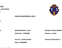 Sistema de matriculas instituto Linares