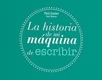 Rediseño libro: La historia de mi máquina de escribir