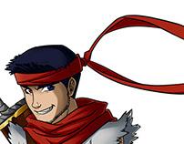 Random characters design