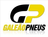 Logotipo Galeão Pneus