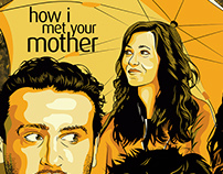 """Poster """"How i met your mother"""""""