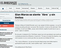 """Gian Marco se siente """"libre"""" y sin límites"""