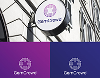 Diseño de Logo para GemCrowd