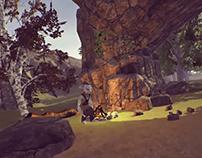 Demo - Paseo por el bosque / Unity3d + Oculus Rift CV1
