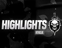 (VIDEO) Vinheta para Highlights - Legião FA