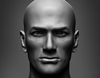 Male face study