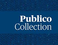Espécimen tipográfico - Publico