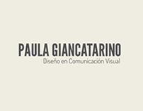 Paula Giancatarino Designer & Communication