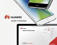 Huawei plataforma incentivos Vodafone