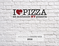 I Love Pizza // WEB