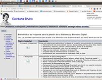 Espabiblio, Programa de gestion bibliotecas.