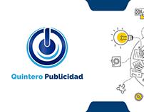 Quintero Publicidad | Diseño de Logotipo