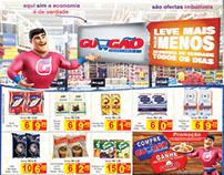 Encarte para Supermercado