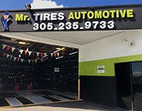 Mr Tires Automotive Brand