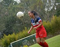 Equipo de Futbol Femenino de la UNA