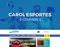 Carol Esportes E-Commerce (Em andamento)