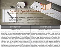 Sample Translation 5 (Balance of Charge)