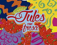 Etiqueta Tequila Jules Proyecto académico
