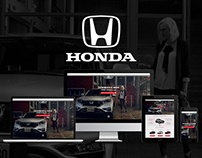 Honda CR-V Up-Grade / Landing Page