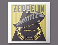 Logo Branding Zeppelin Artisanal Beer