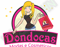 LOGO AND CHARACTER DESIGN for Dondocas from Brazil