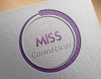 Logotipo MISS Cosméticos